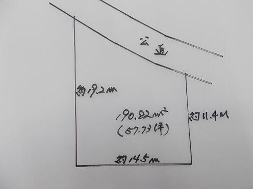 土地-八王子市川口町 区画図
