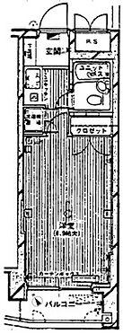 マンション(建物一部)-徳島市かちどき橋6丁目 間取り