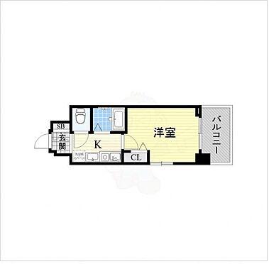 マンション(建物一部)-大阪市北区大淀南1丁目 間取り