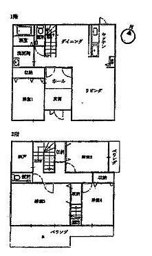 戸建賃貸-一宮市伝法寺3丁目 こだわりの間取になっています。