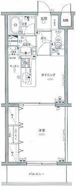 マンション(建物一部)-横浜市神奈川区松見町4丁目 間取り