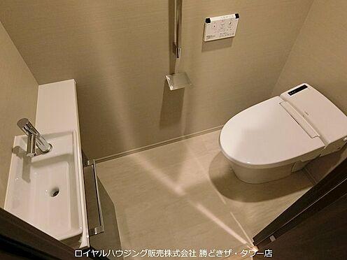中古マンション-江東区有明2丁目 手洗いカウンター付きトイレ