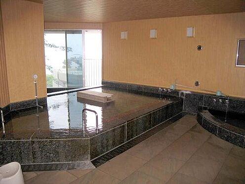 リゾートマンション-熱海市伊豆山 温泉大浴場です。男女交替でご利用頂きます。(サウナ付)