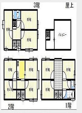 一棟マンション-新宿区北新宿3丁目 間取り