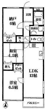 マンション(建物一部)-神戸市灘区原田通1丁目 収納スペースたっぷり2LDK