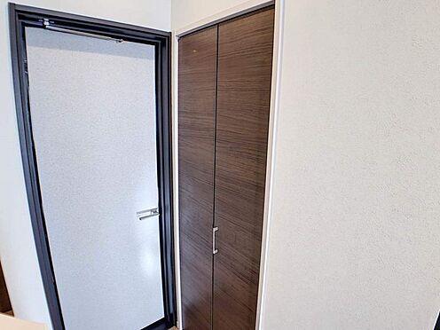 戸建賃貸-江南市高屋町十六田 1階廊下の収納です。