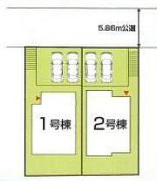新築一戸建て-豊田市今町6丁目 駐車並列2台可能!