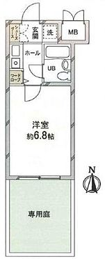 マンション(建物一部)-京都市東山区毘沙門町 ガーデニング好きな方には嬉しい専用庭付き