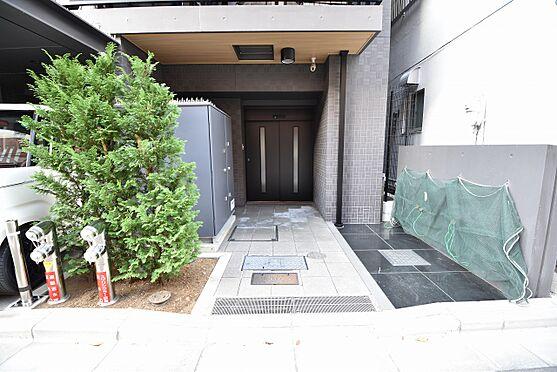 中古マンション-墨田区両国2丁目 駐輪場入口(駐輪場・バイク置場は屋内です。)
