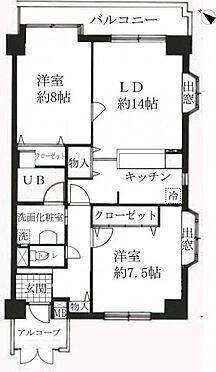 マンション(建物一部)-金沢市昌永町 間取り