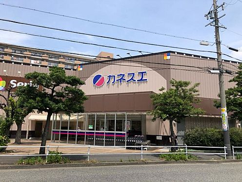 戸建賃貸-名古屋市南区六条町3丁目 カネスエ木場店まで550m 徒歩約7分