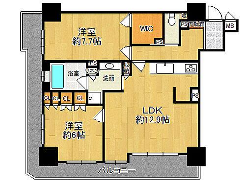 マンション(建物一部)-大阪市中央区南久宝寺町4丁目 間取り