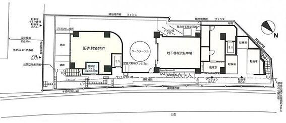 店舗(建物一部)-横浜市西区高島2丁目 間取り