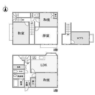 アパート-鎌ケ谷市東中沢2丁目 間取り