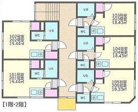 アパート-札幌市豊平区月寒東五条17丁目 その他