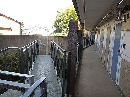 マンション(建物一部)-北九州市八幡西区折尾3丁目 1階北側通路。この一番奥の部屋です。