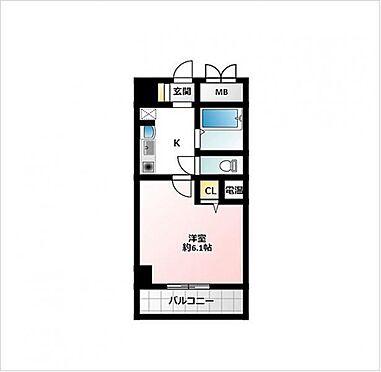 マンション(建物一部)-大阪市北区豊崎3丁目 間取り