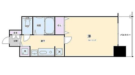 マンション(建物一部)-京都市南区西九条東島町 クローゼットもあるのでひとり暮らしにちょうどいいです。