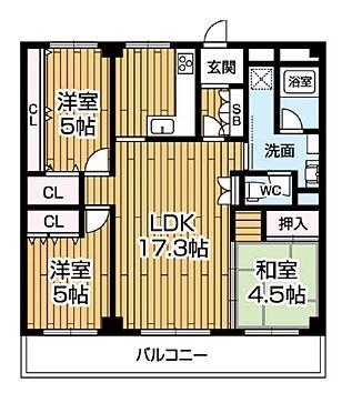 マンション(建物一部)-神戸市東灘区鴨子ケ原2丁目 リフォーム済みのキレイな室内