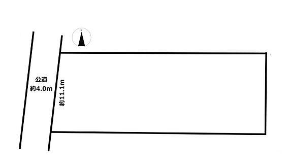 土地-八王子市上川町 区画図