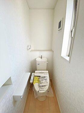 新築一戸建て-奥州市水沢真城字町南 トイレ