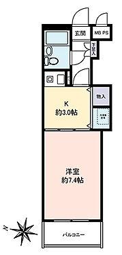 マンション(建物一部)-葛飾区西亀有3丁目 1K・25.94平米