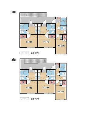アパート-横浜市青葉区藤が丘1丁目 間取り