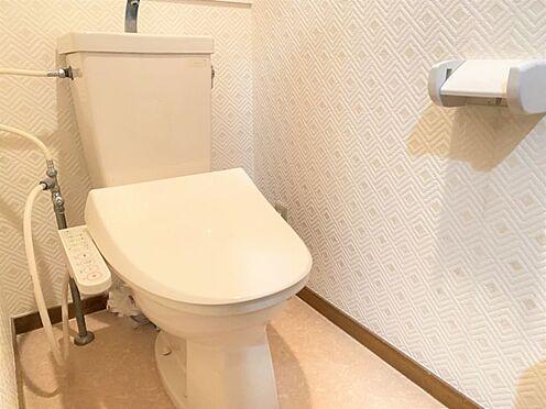 中古マンション-福岡市南区横手4丁目 温水洗浄便座機能付きのお手洗いです♪