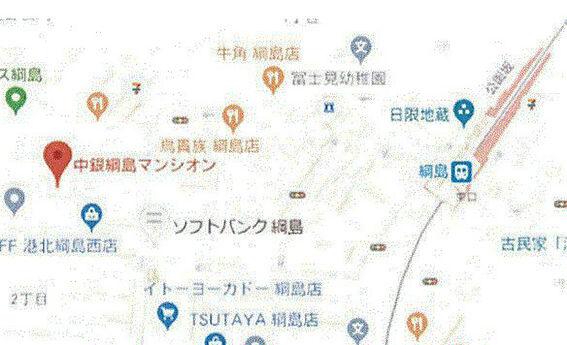 店舗(建物一部)-横浜市港北区綱島西2丁目 地図