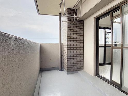 区分マンション-名古屋市南区豊田2丁目 バルコニーは南北に2か所あります