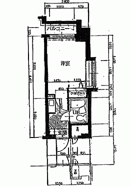 マンション(建物一部)-札幌市中央区北6丁目 間取り