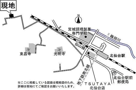 アパート-仙台市青葉区青葉町 地図