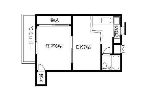 マンション(建物全部)-京都市上京区元北小路町 間取り