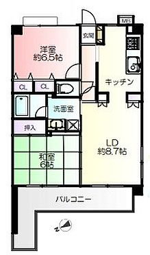 中古マンション-戸田市喜沢2丁目 間取り
