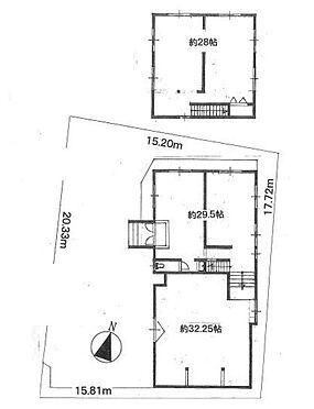 事務所(建物全部)-所沢市大字亀ケ谷 間取り