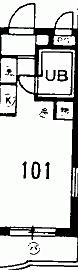 マンション(建物一部)-狭山市入間川2丁目 間取り