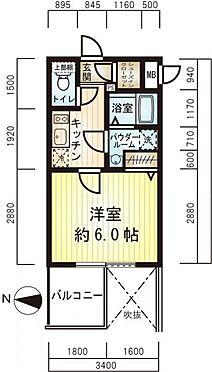 マンション(建物一部)-大阪市西区立売堀3丁目 間取り