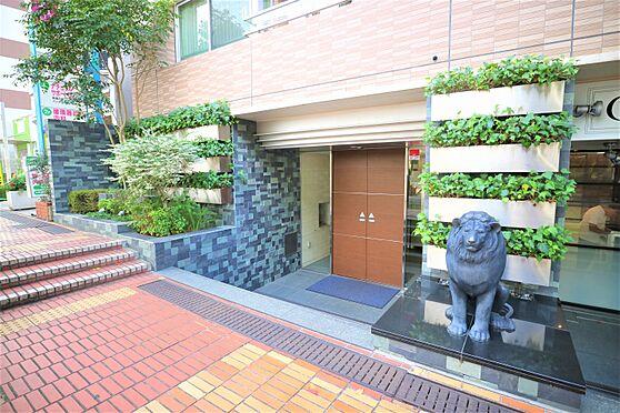 中古マンション-横浜市都筑区葛が谷 オートロック付きメインエントランス。
