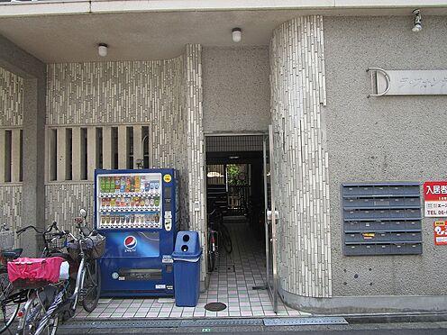 一棟マンション-大阪市東住吉区今川7丁目 マンション内への出入口です