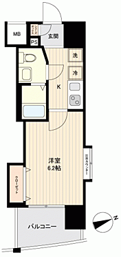 マンション(建物一部)-大阪市中央区高津2丁目 間取り