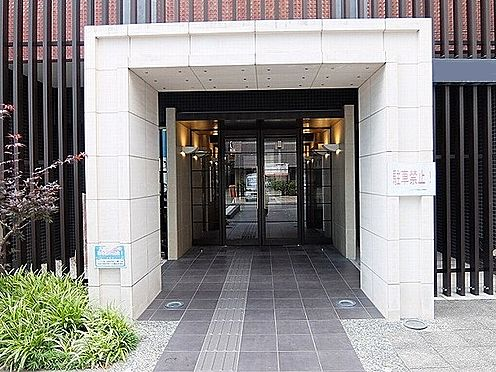 マンション(建物一部)-京都市下京区中金仏町 石造り風のエントランス