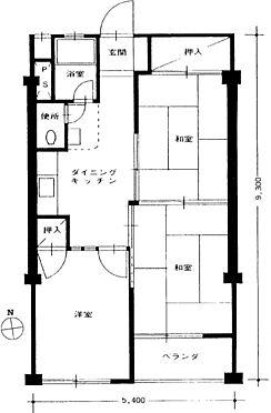 マンション(建物一部)-狛江市岩戸南1丁目 間取り