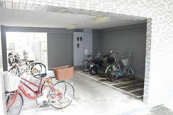 マンション(建物一部)-神戸市兵庫区湊町1丁目 ゆとりある駐輪スペース
