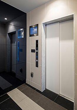 区分マンション-大阪市北区長柄東3丁目 防犯カメラ搭載エレベーター