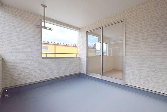 新築一戸建て-仙台市泉区上谷刈1丁目 バルコニー