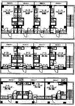 マンション(建物全部)-横浜市南区中里2丁目 間取り図