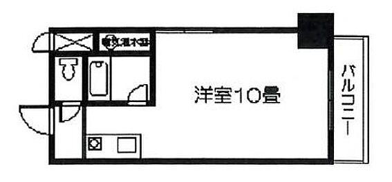 マンション(建物一部)-鹿児島市平之町 間取り