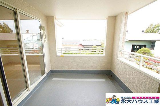 戸建賃貸-大崎市古川桜ノ目字飯塚江 バルコニー