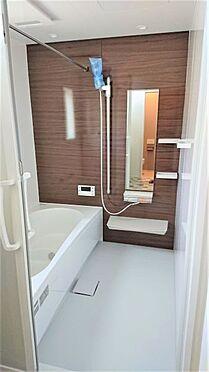 中古一戸建て-岡崎市鴨田町字広元 帰宅時間の異なるご家庭に嬉しい追い炊き機能付きのお風呂です!