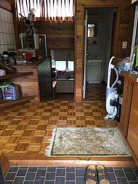 中古一戸建て-田方郡函南町平井 玄関。2階から入室です。
